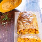 Strudel d'autunno - zucca, pancetta e rosmarino